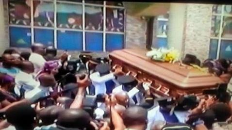 burial of late Prof. Dora Akunyili