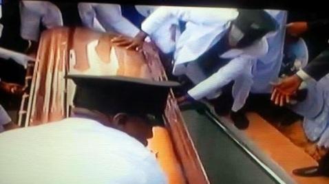 Prof. Dora Akunyili's burial