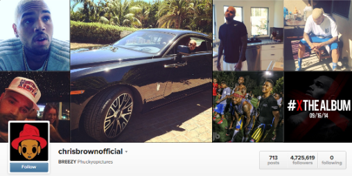 Chris Brown unfollows all of his fans on twitter & instagram (Fans fires back) ozara gossip