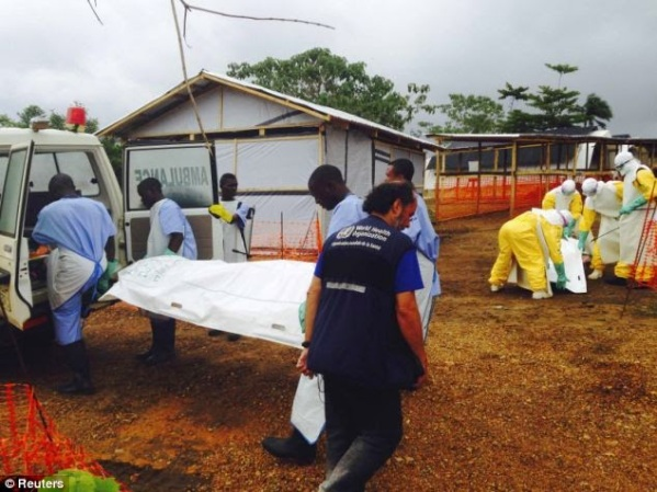 Streets of Liberia full of Dead Ebola Victims, first Ebola Victim arrives in the middle east