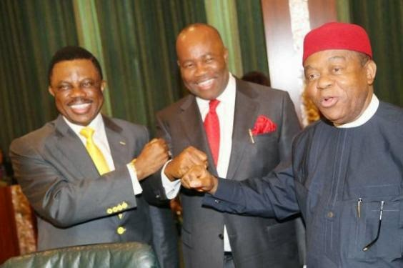 No Shaking! The fear of Ebola; Our Governors now greets by ''Chop Nockle''