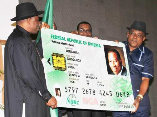 New Nigerian National Electronic ID card