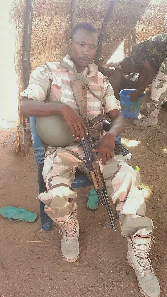 Captain Benjamin Toyiring Sule Dies On Duty in Borno State
