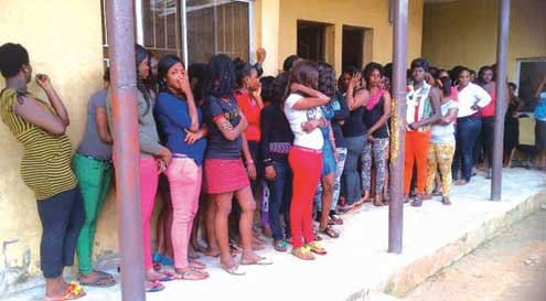 Lagos Police arrest foreigners