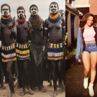 Heaven or hell? Maheeda refers her constant nude photos to Ancient African Nude photos