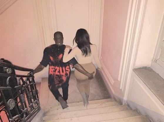 Kanye West, Kim Kardashian's butt |ozara gossip