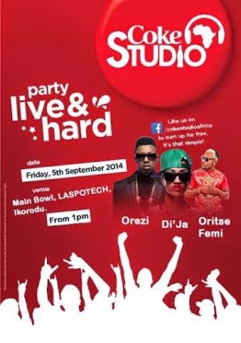 Coke Studio Africa concert at Laspotech, Ikorodu - ozara gossip