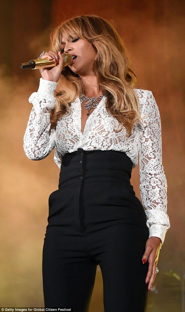 Beyonce's wedding ring - ozara gossip