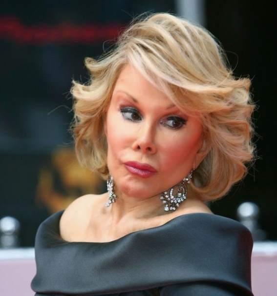 "comedienne ""Joan Rivers"" - ozaragossip.wordpress.com"