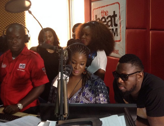 Omawumi, Timaya, Wizkid at BeatFM