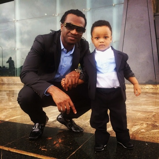 Paul Okoye and son-ozara-gossip
