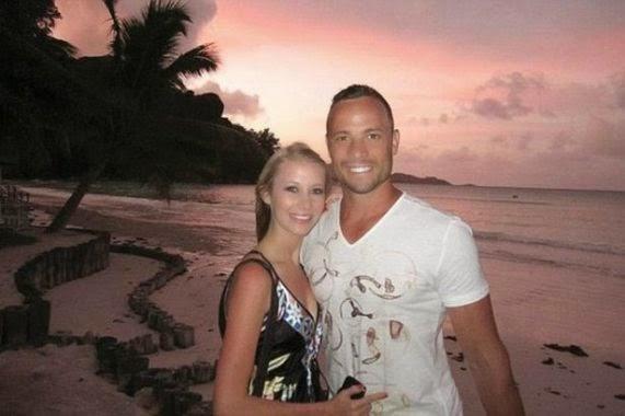 Oscar Pistorius and Samantha Taylor - ozara gossip