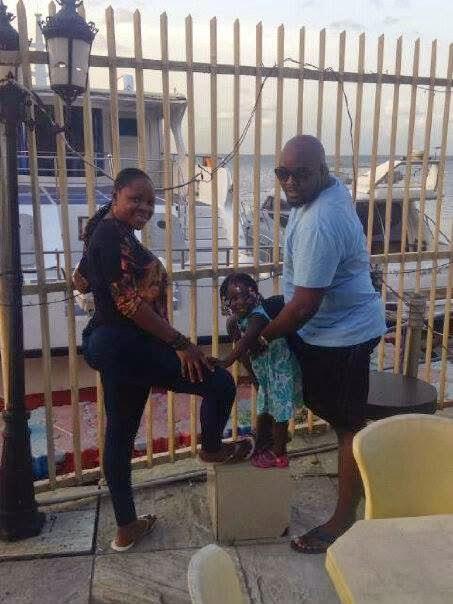 Toyin Yusuf and omawumi with baby - ozara gossip