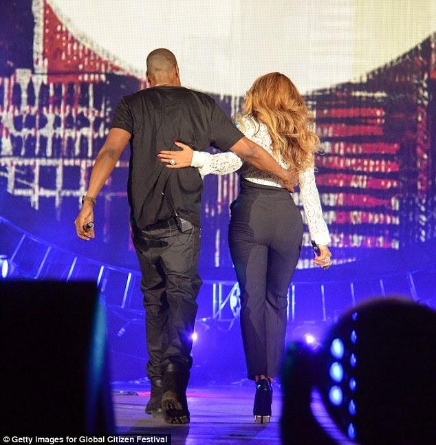 Beyonce's wedding ring | ozara gossip