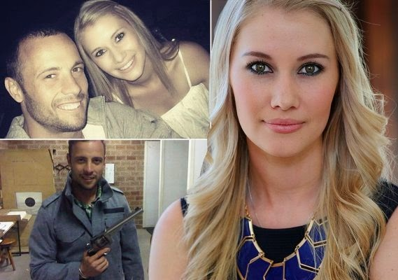 Oscar Pistorius and girl friend Samantha Taylor, ozara gossip