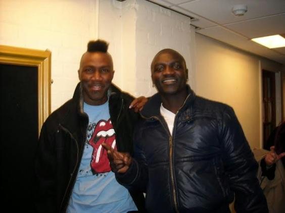 Akon and DJ Benny D - ozara gossip