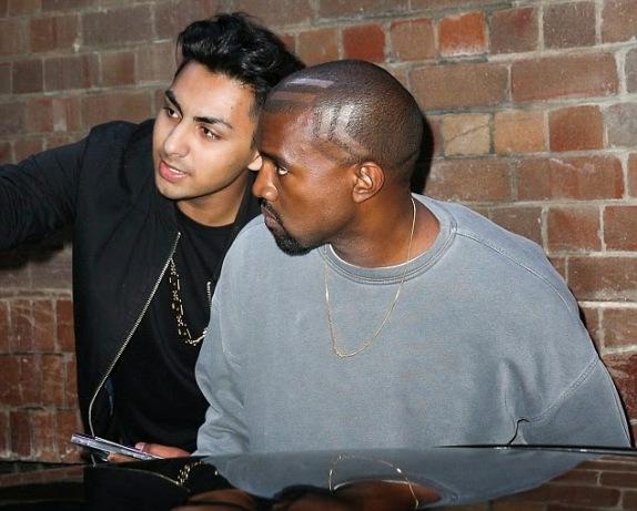 Kanye West's New Hair Style | ozara gossip