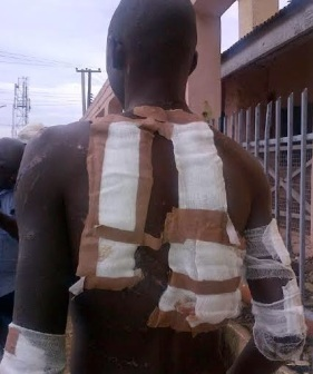 army brutality on a young man | ozara gossip