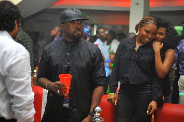 Celebs at the Green Light party with Akon's official DJ, Benny D | ozara gossip