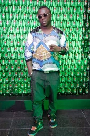 YQ at Green Light party with Akon's official DJ, Benny D | ozara gossip