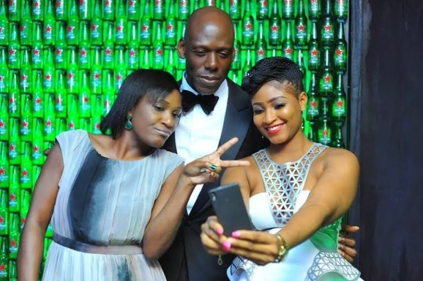 ozara gossip: Celebs at the Green Light party with Akon's official DJ, Benny D