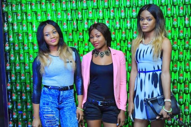 Models: Celebs at the Green Light party with Akon's official DJ, Benny D | ozara gossip