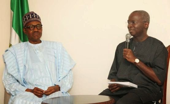 General Muhammadu Buhari visits Governor Babatunde Raji Fashola | ozara gossip