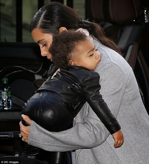 Kim Kardashian and North West | ozara gossip