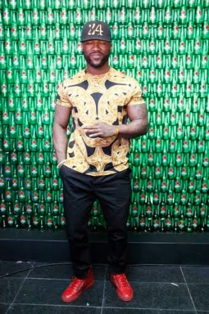 Iyanya at Green Light party with Akon's official DJ, Benny D | ozara gossipny