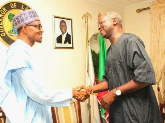 Gen. Buhari paid Governor Fashola a visit in Lagos | ozara gossip