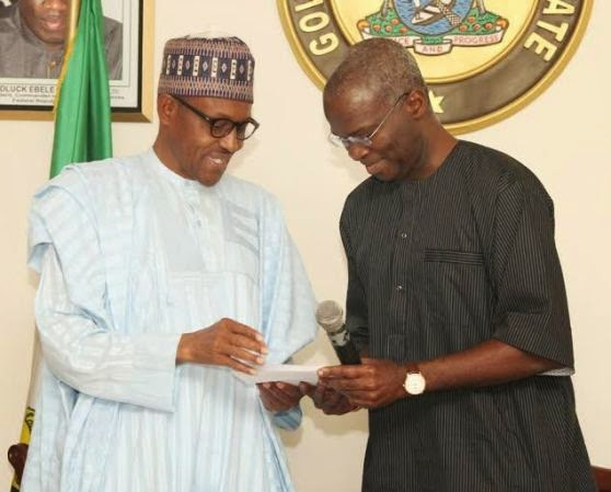 Gen. Buhari and Governor Raji Fashola | ozara gossip
