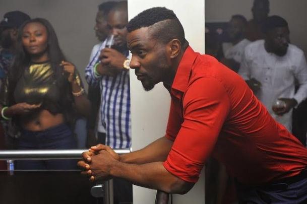 "Photos of Celebs from the ""Green Light party"" with Akon's official DJ, Benny D 