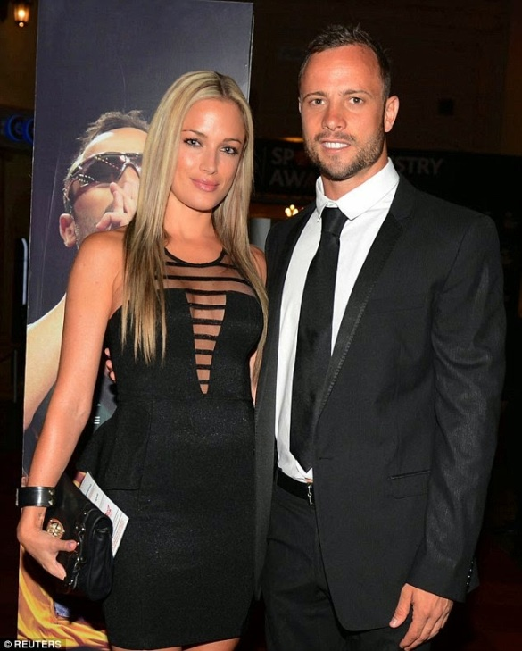 Oscar Pistorius and girl friend | ozara gossip