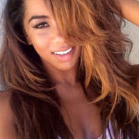 OMG! Brittany Renner shows off her sexy six-pack abs, nearly unleased her inner part!! (photos)
