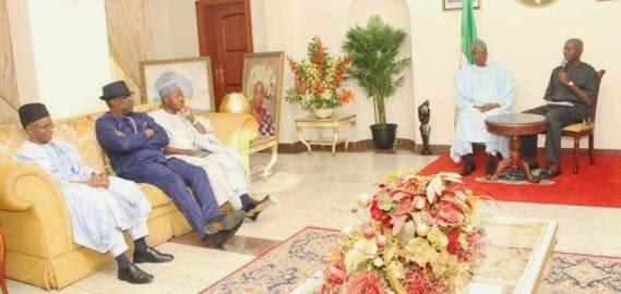 General Muhammadu Buhari, Governor Babatunde Raji Fashola | ozara gossip