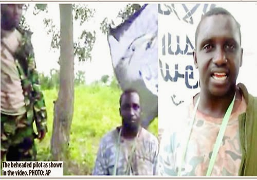 beheaded pilot by boko haram | ozara gossip