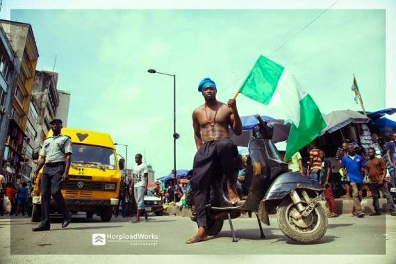 Mr Nigeria, Emmanuel Ikubese celebrates Nigerian Independence with new photo shots | ozara gossip