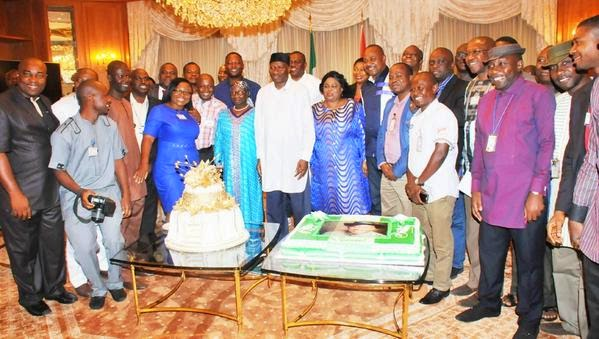 friends and families at prayer section at President Goodluck Jonathan's 57th birthday party | ozara gossip