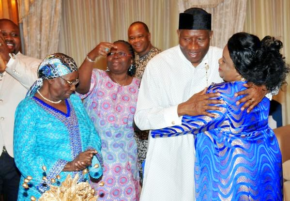 Photos: President Goodluck Jonathan's 57th birthday party | ozara gossip