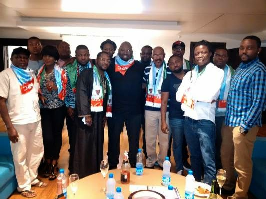 Nigerian artists Supports Buhari's campaign | ozara gossip