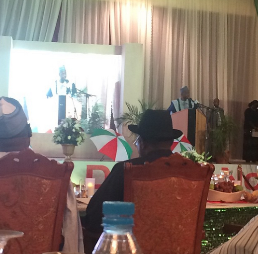 Governors, Business moguls and others at President Goodluck Jonathan's  re-election fund raising campaign | ozara gossip