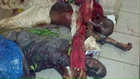 people burnt in Bomb blast | ozara gossip