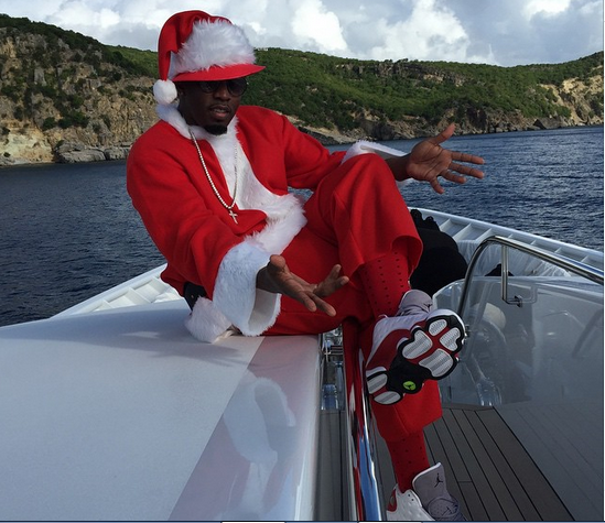 Diddy on his yacht - ozara gossip