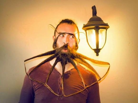 creative beard man | ozara gossip