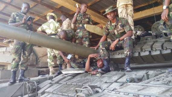 The new T72 tanks bought to fight Boko Haram | ozara gossip