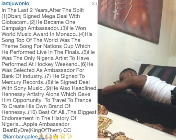 D'banj counts his achievements  | ozara gossip