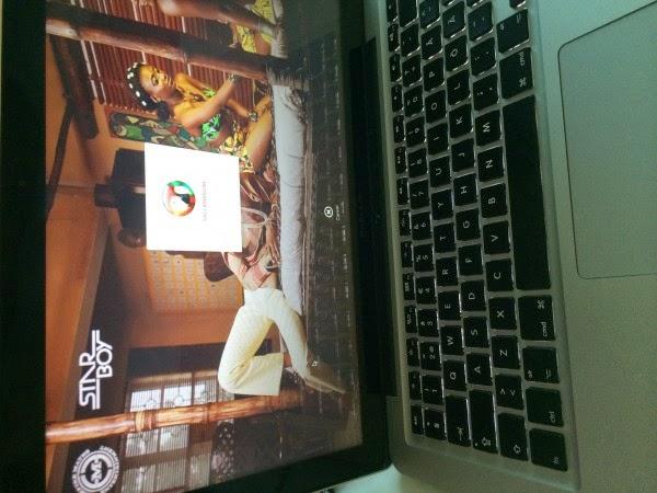 Wizkid's Laptop |ozara gossip