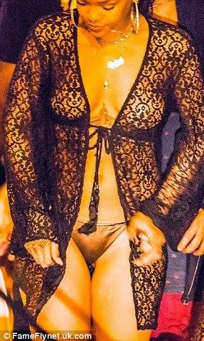 Rihanna - bikini bottoms - ozara gossip
