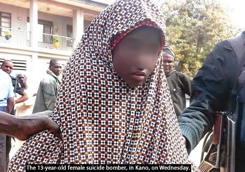 13 Year old Female Suicide Bomber | ozara gossip