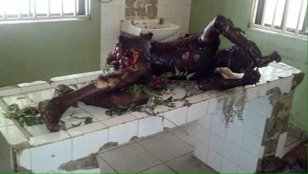 burnt from Bomb blast in Gombe motor park | ozara gossip